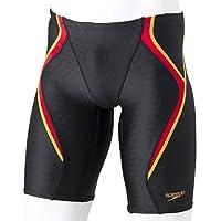 Speedo(速度) 游泳游泳衣 男孩 少年 球衣 4分长 FlexCubeFINA 认证模型 SCB61907F