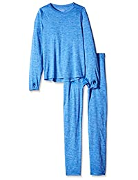 Trimfit 男童太空染色长袖带拇指孔保暖套装