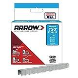 """Arrow Fastener 504IP T50平线卡钉 1/4"""" 6mm脚长 (Arrow Fastener 504IP Genuine T50 1/4-Inch Staples 5000-Pack)"""
