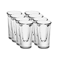 Libbey 利比 5030CN2*2 白酒杯22ml(8只) 子弹杯 适用于商务家庭聚会(亚马逊自营商品, 由供应商配送)