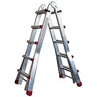 Homelux 825029 多功能伸缩梯子 2 x 8 步