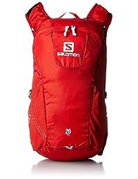 Salomon 萨洛蒙 TRAIL 20 中性 户外双肩背包 L37998000 亮红色