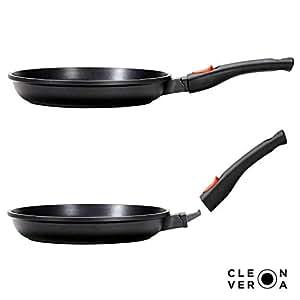 "Cleverona Essential 不粘煎锅带*扣可拆卸手柄 10.25"" pan (26 cm) 10.25"" unknown"