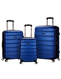 Rockland Melbourne 3件套腹部行李箱