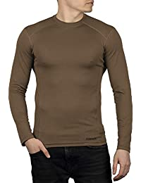 281Z 男式*吸湿排汗衬衫 - 战术训练*专业 - Polartec Delta - Cool Touch (Coyote Brown)