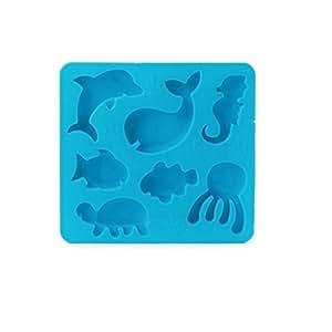 Kikkerland 冷冻托盘 海底世界 蓝色