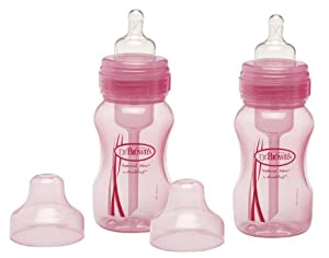 Exclusive Dr. Brown's Wide Bottles 8oz - Pink