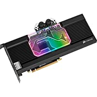 Corsair Hydro X 系列,XG7 RGB GPU 防水块,20 系列,GeForce RTX 2080 参考CX-9020005-WW RTX 2080 Ti