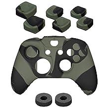 NITHO 游戏增强器套装 适用于 Xbox One 控制器,迷彩(Xbox One)
