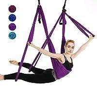 IphonepassteCK 空中瑜伽秋千瑜伽吊床吊带抗重力瑜伽倒立练习