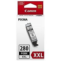 佳能. PGI-280 XXL 颜料黑色墨水罐,适合:TS8120、TS6120、TR7520、TR8520、TS9120、TS8120 未知 1 黑色