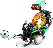 Elenco Teach Tech Mech-5 | 可編程機械機器人編碼套件 | STEM 兒童教育玩具 10+