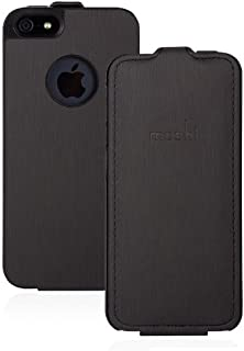 Moshi 摩仕 Concerti for iphone5/iphone5S 超薄经典皮套-黑 99MO051002