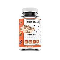 Herbaland 儿童维生素C软糖60粒/瓶 加拿大原装进口 天然 果胶 支持代谢 天然抗氧化 (包邮包税)