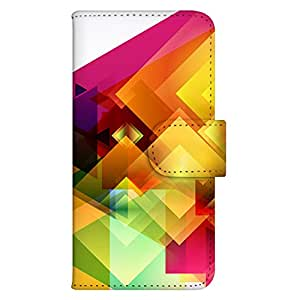 智能手机壳 手册式 对应全部机型 印刷手册 wn-190top 套 手册 CG艺术设计 图形 数码 UV印刷 壳WN-PR359280-M らくらくスマートフォン F-12D 图案 A