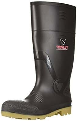 Tingley Men's 51144 PVC Knee Boot Brown/Crepe 14