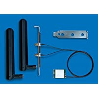 INTEL 英特尔双频无线 AC 8265 桌面套件,INTEL 英特尔 WLAN/蓝牙 867 Mbit/s,- 网络适配器(内置,无线,M.2,WLAN/蓝牙,IEEE 802.11ac, 867 Mbps)