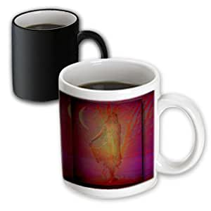 3dRose Pagan Gaia, Wiccan Tree Goddess,Magic Transforming Mug, 11-Oz