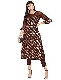 Janasya 印度束腰上衣绉纱短衫套装