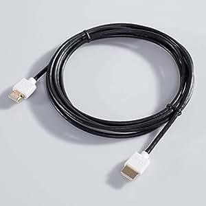 超薄 HDMI 线缆,世界上*薄的 HDMI Lead? (镀金,1080p,4K,UHD,3D,高速,ARC)slim2.5AAECO 07: 8ft (8ft 2in / 2.5m)