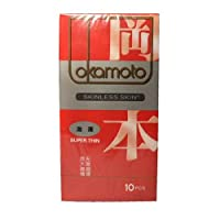 Okamoto 冈本 避孕套 安全套 skin肤感激薄10片装 原装进口