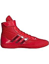 adidas COMBAT 速度5红色深红色摔跤鞋 ac7499)
