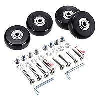 GSHFIGHTING 行李箱替换轮橡胶 w/ABEC 608zz 滑板户外滑板维修套装 4 个轮子