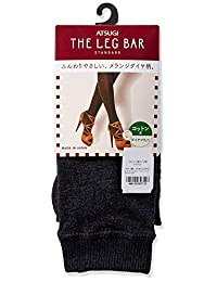 [ASTUGI] 紧身裤 Atsugi The Leg BAR(厚木) [日本制造] 相当于400丹尼尔 棉混 钻石图案 紧身裤 厚木犬 女士