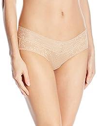 Calvin Klein 女式 bare 蕾丝低腰内裤