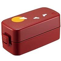 ASVEL阿司倍鹭 月兔便当盒附便当盒袋-红 620ml 315220