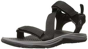 Columbia Men's Sandals, WAVE TRAIN, Black (Black/City Grey), Size: 10 海外卖家直邮