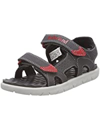 Timberland 添柏岚 儿童 Perkins Row 2-Strap Sandals