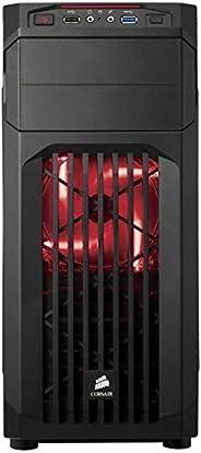 Dubaro 游戲玩家 PC i5 7600K 帶 6GB GTX1060 臺式電腦 (英特爾酷睿 i5, 1000GB 硬盤, 16GB RAM 黑色/紅色Gamer PC i5 7600K mit 6GB GTX10