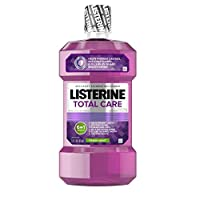 Listerine Total Care 防蛀漱口水清新薄荷,33.8 盎司 1包