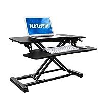 """FlexiSpot 笔记本电脑桌面键盘托盘 28"""" 黑色"""