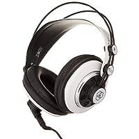 AKG 2015 M220 Pro 造型师专业大隔膜 DJ 半开高清耳式工作室耳机