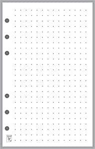 Franklin Covey Compact 尺寸笔记本的规划者和组织者 Dot Grid Paper (5mm)