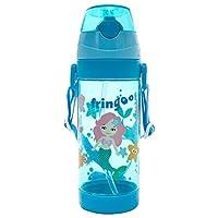 fringoo ® 儿童吸管 drinks 水瓶550ml 手柄带翻盖式