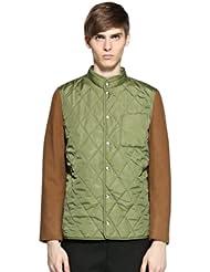 中国亚马逊:Trendiano的男式菱格纹棉服原价:¥999,现价:¥50