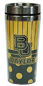 Game Day Outfitters NCAA Baylor University Travel Polka 圆点马克杯,均码,多色