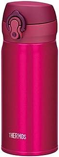 THERMOS 膳魔师 真空隔热不锈钢保温杯【一按即开】350ml 玫红色 JNL-352 SBR