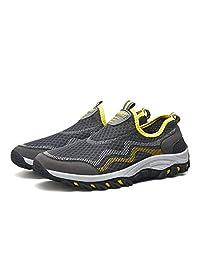 FeO DvKe铁公爵 情侣款户外徒步鞋 单层透气网布 防滑橡胶底 一脚蹬户外运动鞋 AB45-797/B