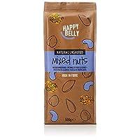 Amazon Marke 亞馬遜品牌Happy Belly 混合堅果,500克