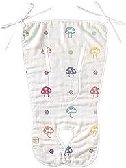 hoppetta 香檳 松軟的紗布(6層紗布) 嬰兒車座椅 18211005