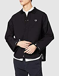 FRED PERRY 拉链夹克衫 SHIRT JACKET F4550 男士
