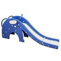 LANGXUN 俏皮大学步儿童滑梯,篮球框,易攀登楼梯和环形游戏,男女皆宜,室内户外使用