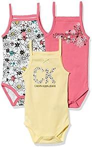 Calvin Klein 女宝宝连体衣 3 件套