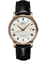 瑞士品牌 MIDO 美度 Baroncelli贝伦赛丽系列机械男士手表 M901.408.76.033.20