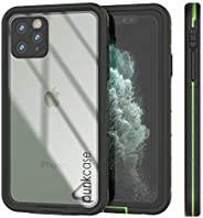 Punkcase iPhone 11 Pro Max 防水手机壳 [Aqua 系列] [超薄贴合] [IP68 认证] [防震] [防尘] [防雪] 带透明后盖 iPhone 11 Pro Max (2019) (6.5