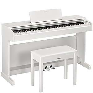 YAMAHA 雅马哈 ARIUS系列YDP-143WH电钢琴88键数码钢琴(含配套琴架 三踏板及琴凳) 白色